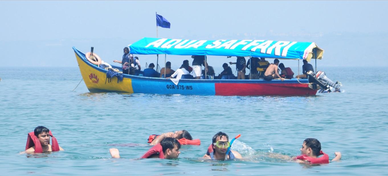 Grande Island Trip in Goa with snorkeling