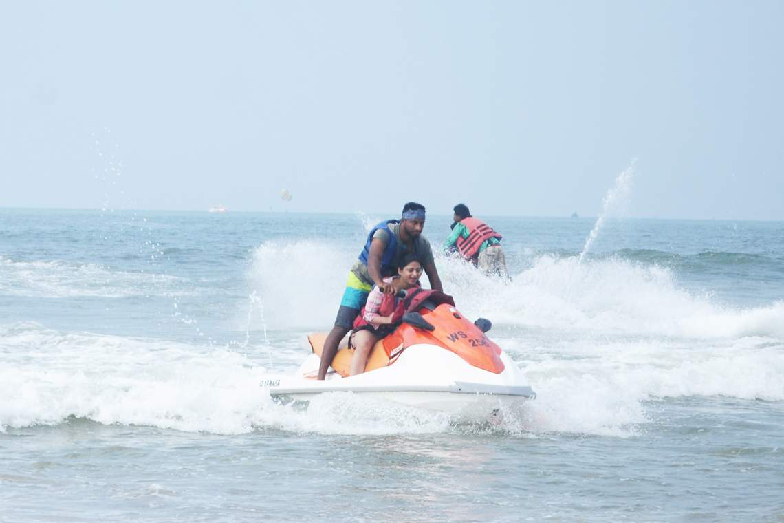 Goa Water Sports Packages Water Sports In Goa Goa Tours Planner